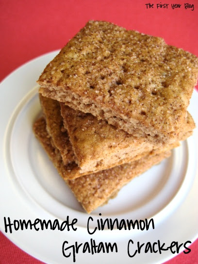 homemade cinnamon graham crackers