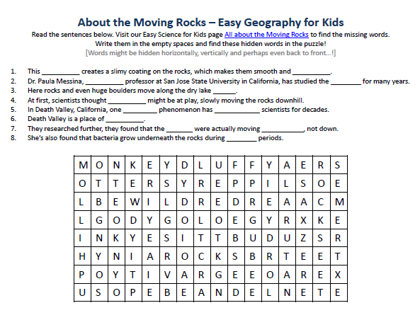 25 Moving Words Worksheet Answers - Worksheet Resource Plans