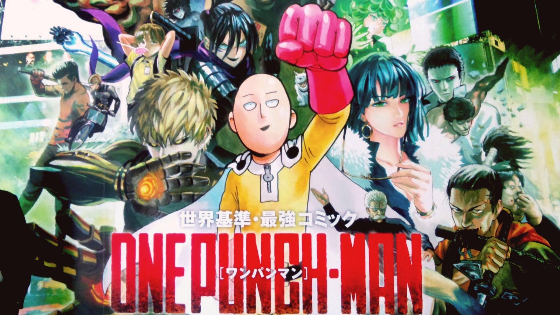 One Punch Man 1ª Temporada