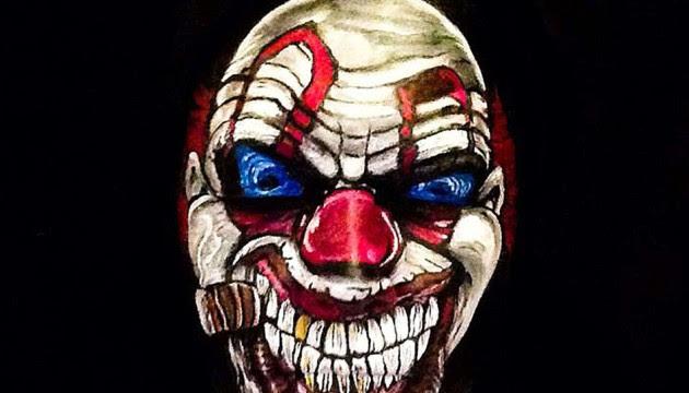 Dessin De Ca Le Clown Tueur Les Dessins Et Coloriage