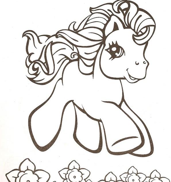 ausmalbilder filly pferde  malvorlagen gratis