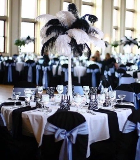 58 Elegant Black And White Wedding Table Settings Happyweddcom