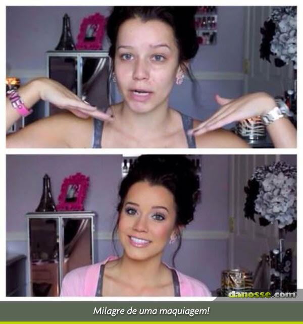 Milagre da maquiagem!