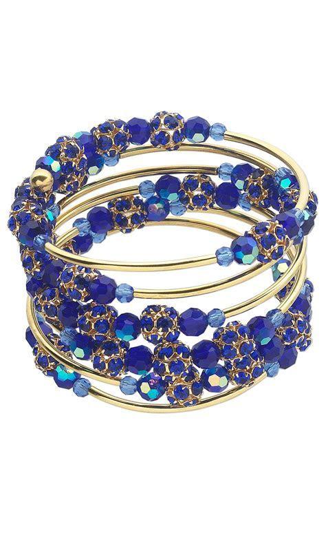 Jewelry Design   Memory Wire Bracelet with Celestial