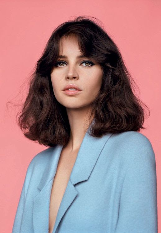 Le Fashion Blog 5 Things Felicity Jones Vogue-UK Meet Miss Jones April 2014 Retro Hair Beauty Shaggy Bangs Blue Coat Pink Lips1 photo Le-Fashion-Blog-5-Things-Felicity-Jones-Vogue-UK-Meet-Miss-Jones-April-2014-1.jpg