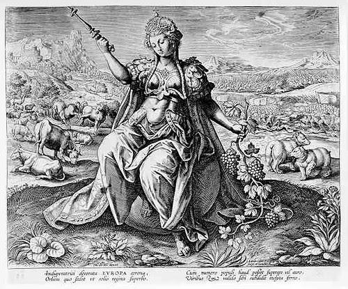 Collaert EUROPA 1551 - 1600