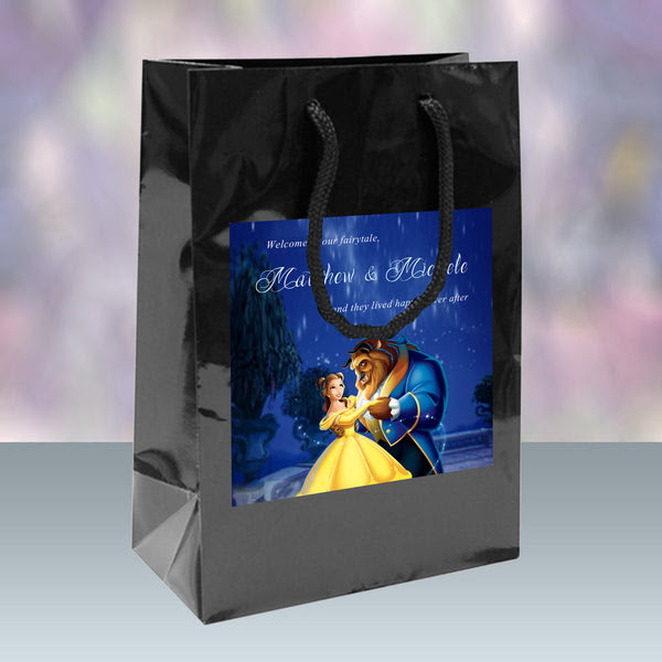 Beauty And The Beast Wedding Welcome Bags Hotel Guest Gift Bags