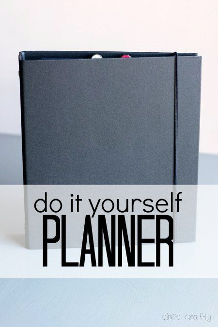 planner, make your own planner, DIY planner, printable planner