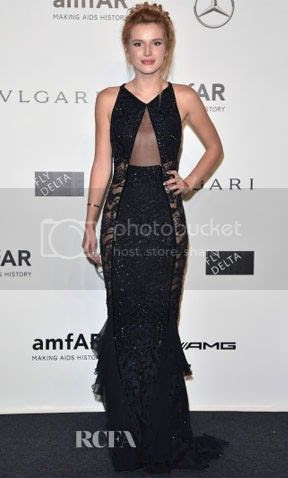 amfAR Milano 2014 Gala Red Carpet Fashion Styles photo Bella-Thorne-amfAR-Milano-2014-Gala.jpg