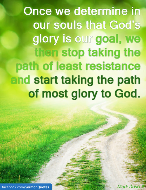 Gods Glory Is Our Goal Sermonquotes