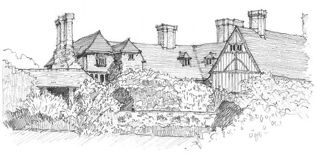 Great-Dixter-Clay-Sketch