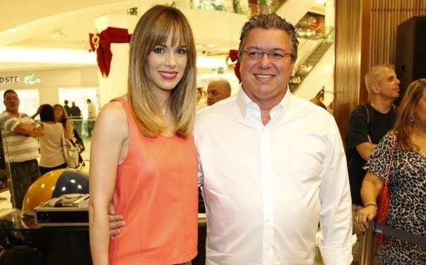 Boninho e sua esposa Ana Furtado (Foto: Divulgação)