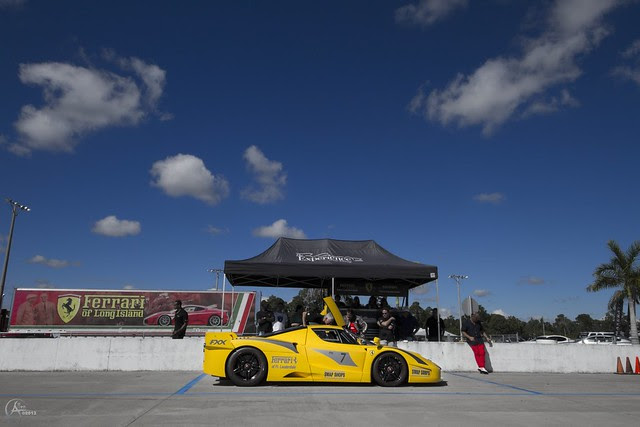 Track day for the FXX