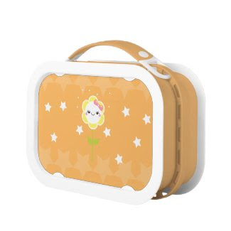 Cute Daisy Lunch Box