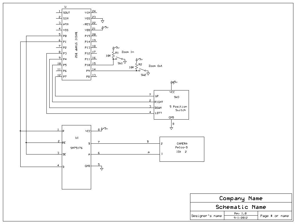 Rs 422 Wiring Diagram