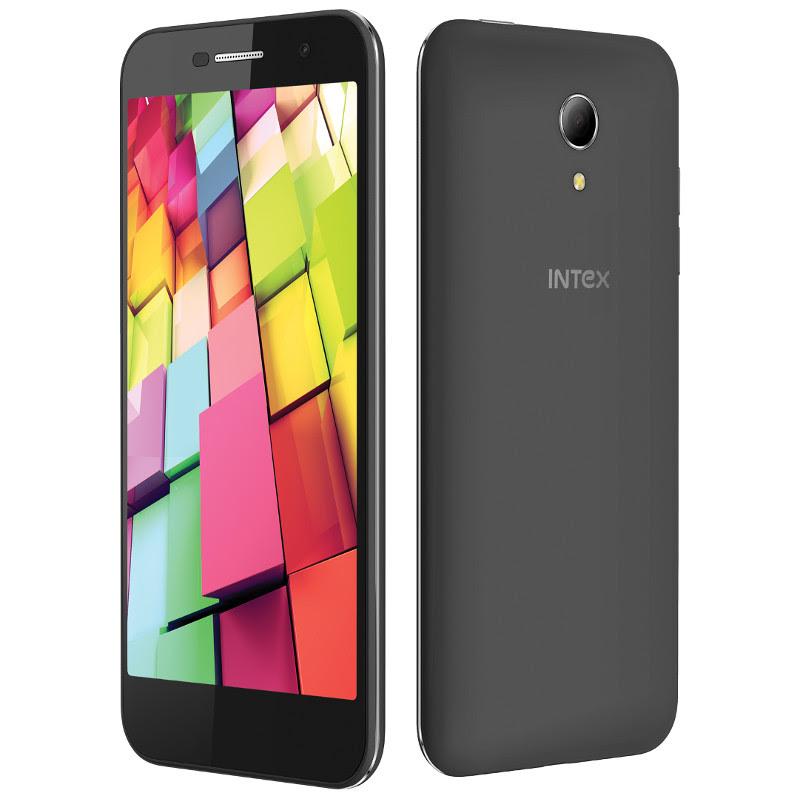 Intex Aqua 4G+ Launched with 5-inch HD display, Android 5.0, 4G LTE