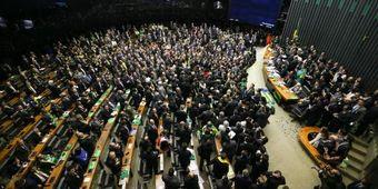 Bancada do RN iniciou votação às 21h30 Foto:  Marcelo Camargo/Agência Brasil