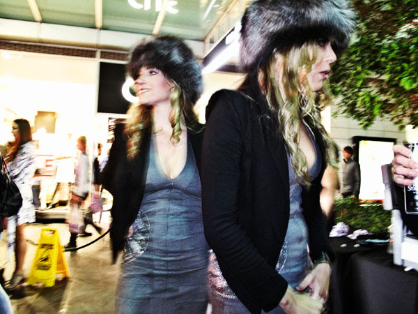 Russian Standard Vodka Girls at World Square, 30 days of fashion and beauty.