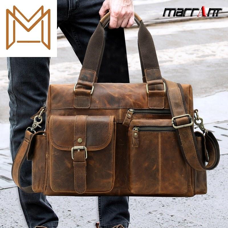 Cheap Travelling Bag Capacity Cowhide Single Shoulder Handbag Cross Section Outdoors Business Travel Portable Luggage Bag