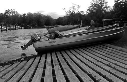 A camera & boat slip
