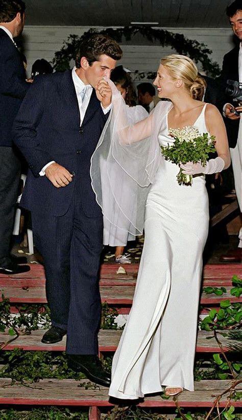 Carolyn Bessette Kennedy's silk wedding dress by Narciso