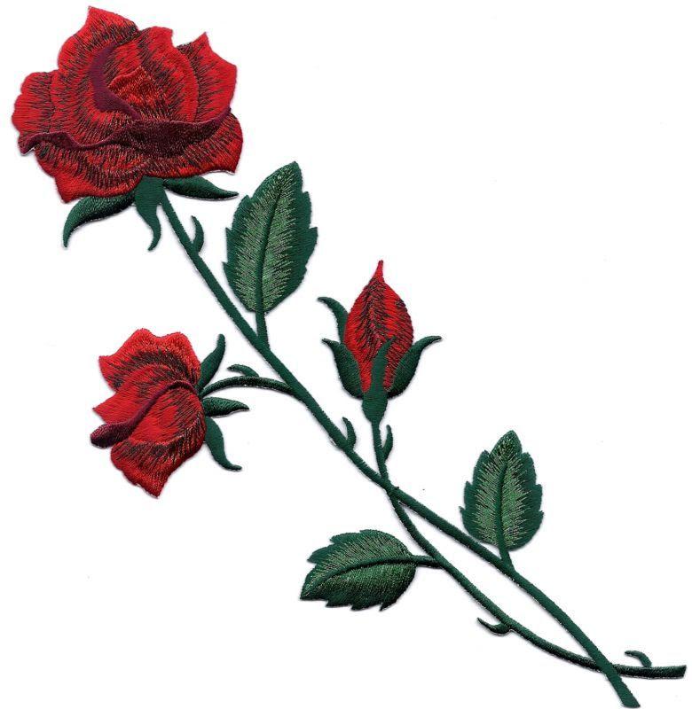 Long Stem Rose Tattoo Clipartsco
