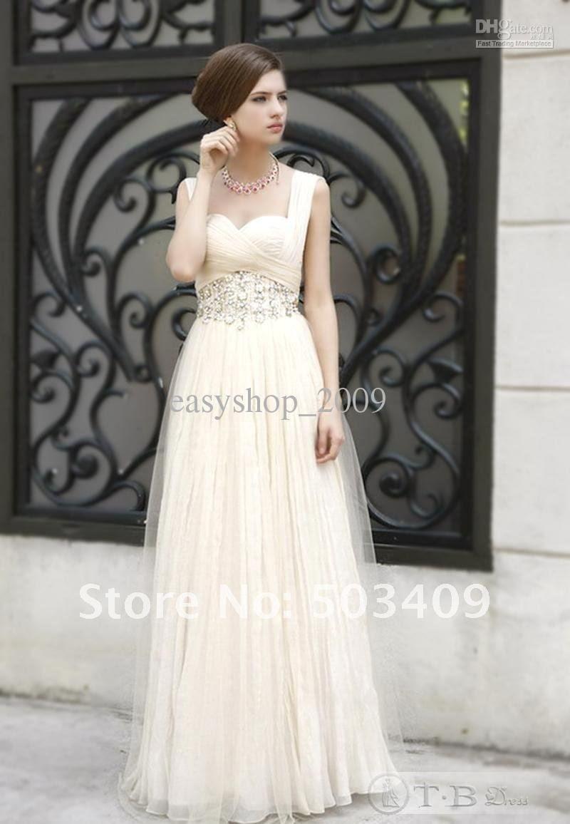 Evening dresses to a wedding