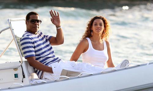 Beyoncé e JayZ são habitués da ilha de Saint Barths
