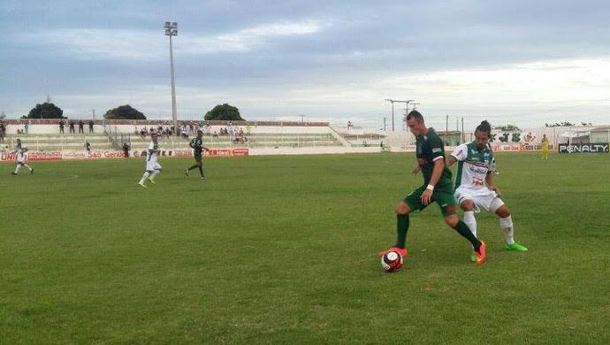 Assu x Baraúnas, no Estádio Edgarzão - Campeonato Potiguar (Foto: Francielle Manoel/Assu/Divulgação)