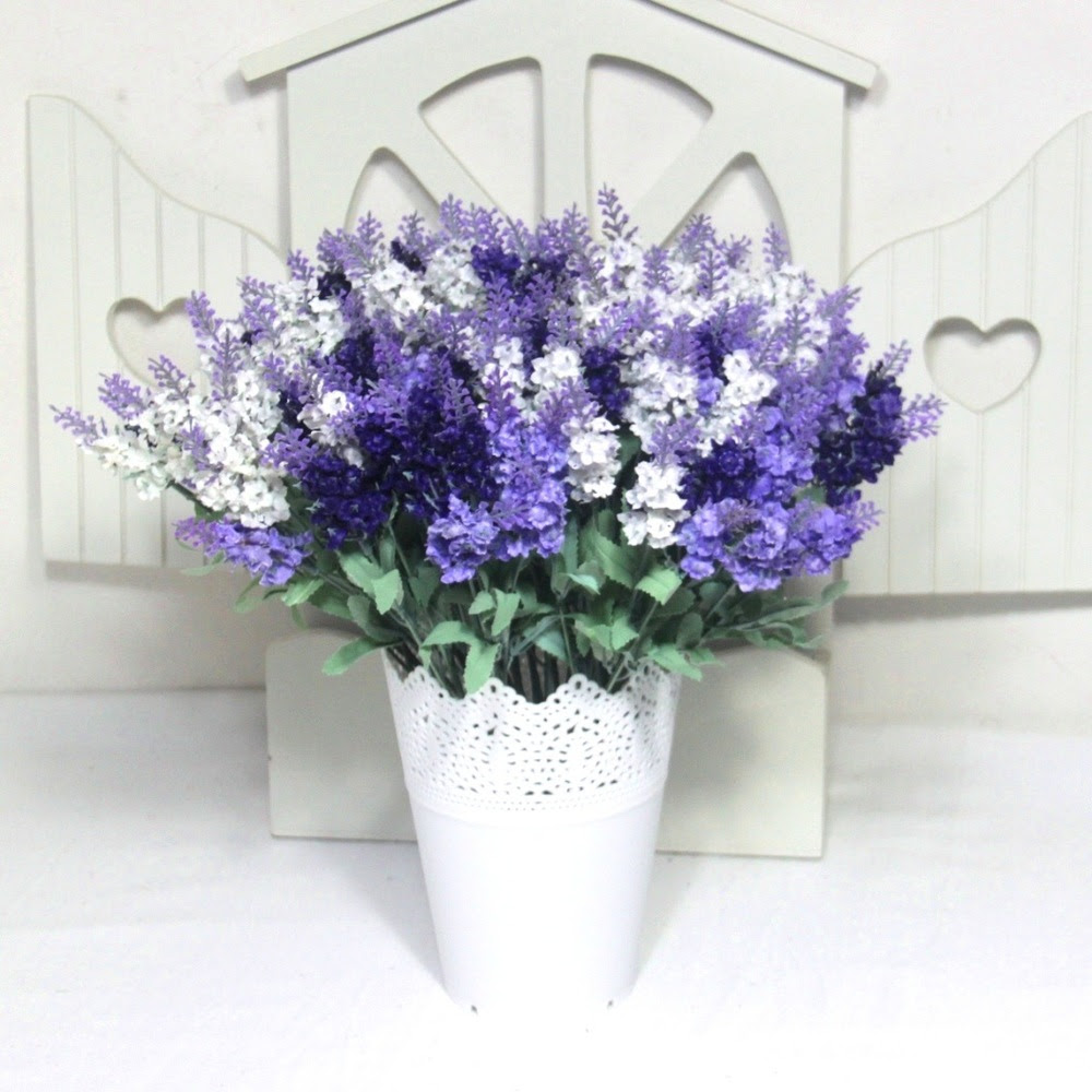 30 pieces\/lot simulation lavender silk flower artificial flowers artificial plants lavender