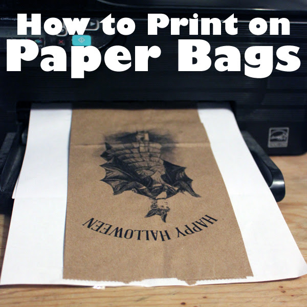 How to Print on Paper Bags with your Home Printer