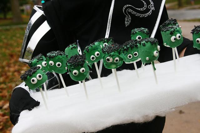 monsters carries to school