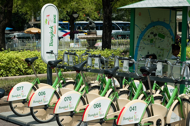 Bangkok Smile Bike bike share