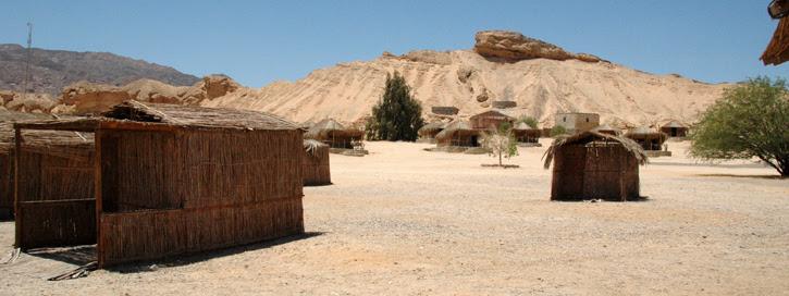 Ras Shaitan à 11km au nord de Nuweiba