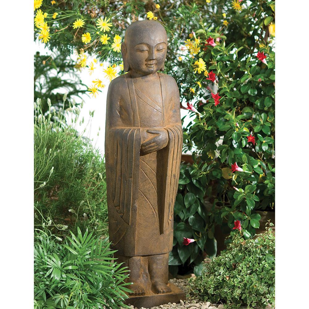 Large Garden Jizo Statue Dharmacrafts