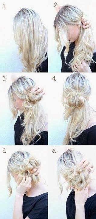 pettinature veloci capelli lunghi - Pettinature facili e veloci 8 idee per quando si è di fretta!