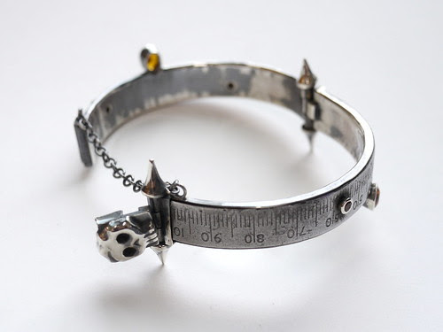 Steel Rule Bangle - 10
