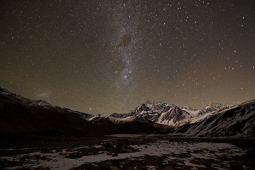 Noche en los Andes por ik_kil