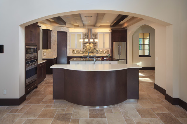 The Modern Mediterranean Home Contemporary Kitchen