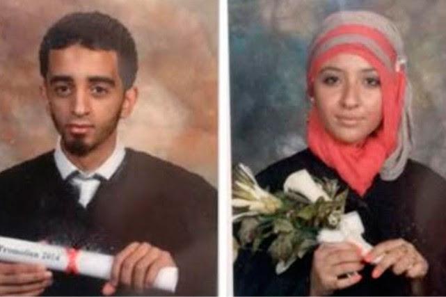 El Mahdi Jamali etSabrine Djermane sont détenus depuis... (Photo tirée de Twitter)