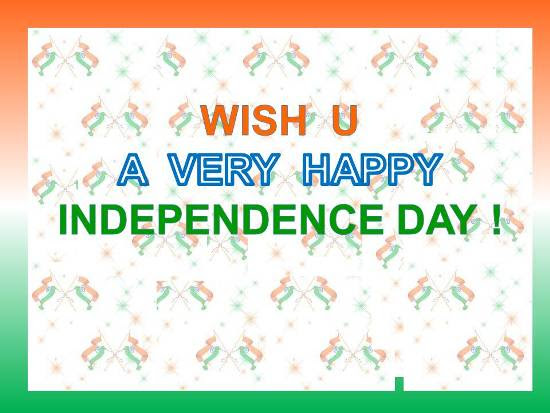Greetings On Independence Day Free Independence Day India Ecards