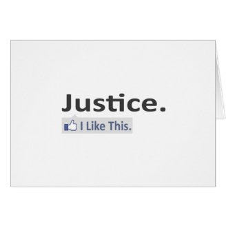 Justice...I Like This Cards