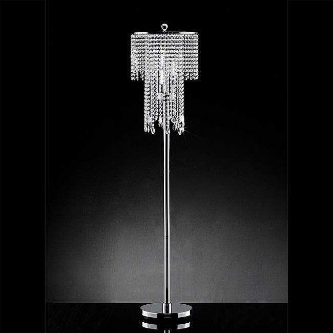 Oxford Creek Crystal Pendant Floor Lamp - Tools - Lighting ...