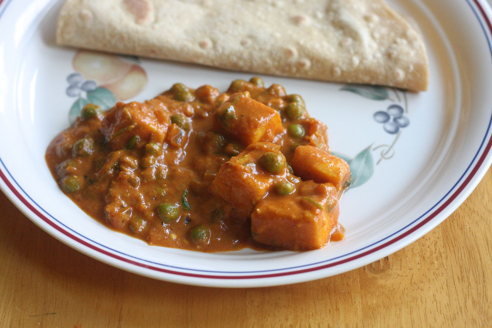 daily musings everyday recipes and more mattar paneer