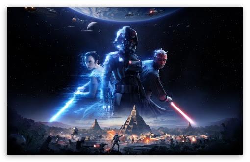 Star Wars Battlefront Ii 2017 Video Game Ultra Hd Desktop Background Wallpaper For Widescreen Ultrawide Desktop Laptop Multi Display Dual Monitor Tablet Smartphone