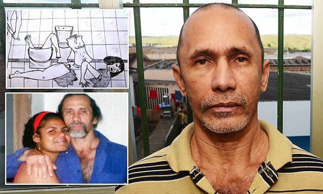 Face-to-face with the Brazilian cannibal who baked his victims in meat pies