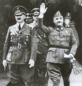 There was hardly any difference between Hitler and Franco.