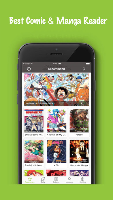 Comic Book - best comic reader & manga reader App Download ...