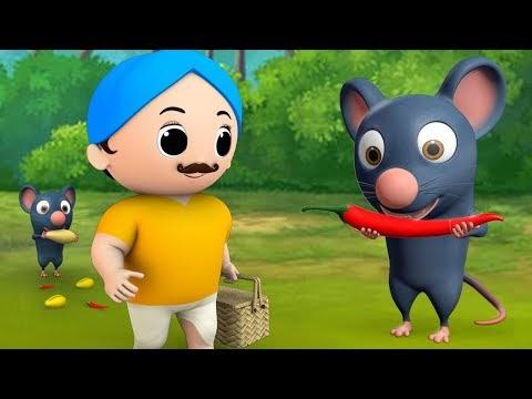 The Rat Eats Red Chillies Bengali Story ইঁদুর যে লাল মরিচ বাংলা গল্প  3D Animated Kids Moral Stories