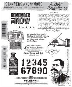 Tim Holtz Stamps Merchantile